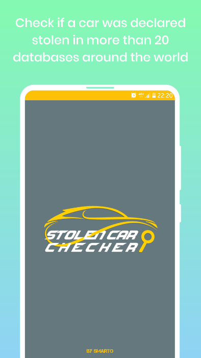 Stolen Car Checker Appliation <br> https://play.google.com/store/apps/details?id=com.GliApps.stolencarchecker